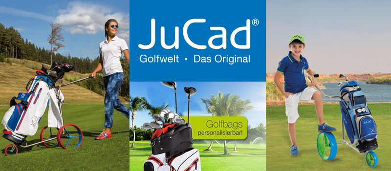 JuCad Elektrotrolleys Golfbags