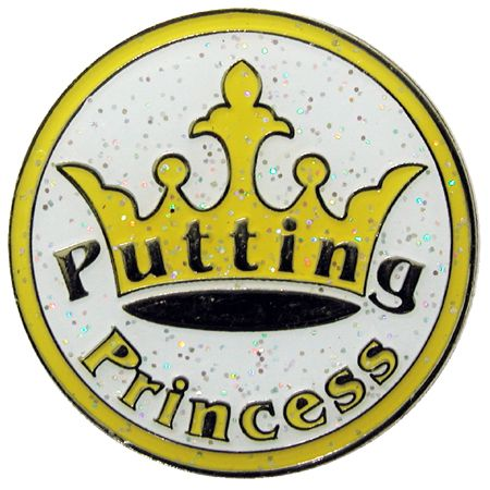 Navika Golf Ballmarker Putting Princess