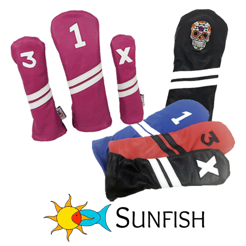 Sunfish Leder Golf Headcovers
