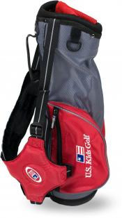 U.S. Kids Golf Ultralight Series Carry Bag (UL39 / 100-107cm), rot/grau