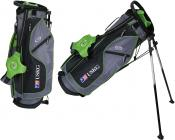 U.S. Kids Golf Ultralight Series Stand Bag (UL57 / 145-152cm), grau/grün