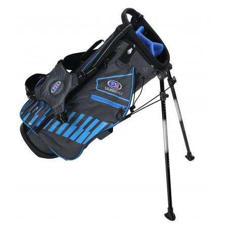 U.S. Kids Golf Ultralight Series Bag, UL48 / 122-130cm, grau/petrol