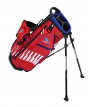 U.S. Kids Golf Ultralight Series Bag, UL48 / 122-130cm, rot/weiß/blau