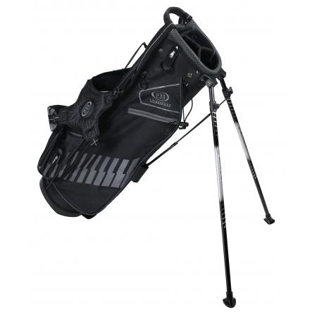 U.S. Kids Golf Ultralight Series Bag, UL60 / 152-160cm, schwarz/grau
