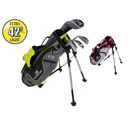 U.S. Kids Golf Starterset SO Ultralight UL42, 107-115cm, RH, silber/pink