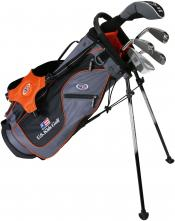 U.S. Kids Golf Starterset SO Ultralight UL51, 130-137cm, RH, grau/orange