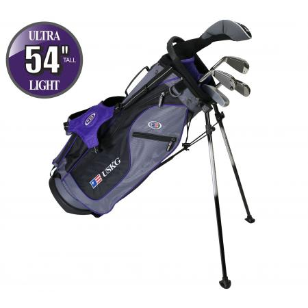 U.S. Kids Golf Starterset SO Ultralight UL54, 137-145cm, LH, 7-teilig