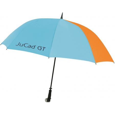 JuCad Golfschirm, blau/orange (GT)