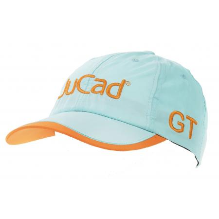 JuCad Kappe, blau/orange (GT)