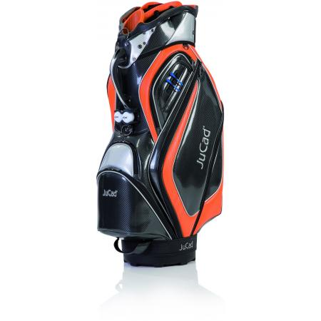 JuCad Cartbag Professional, schwarz/orange