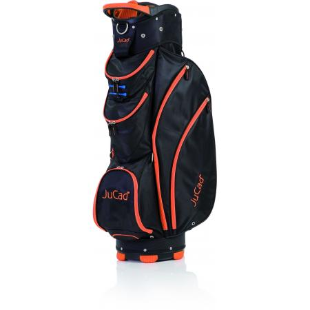 JuCad Cartbag Spirit, schwarz/RV orange