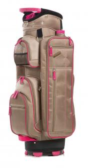 JuCad Cartbag Function Plus, beige/pink