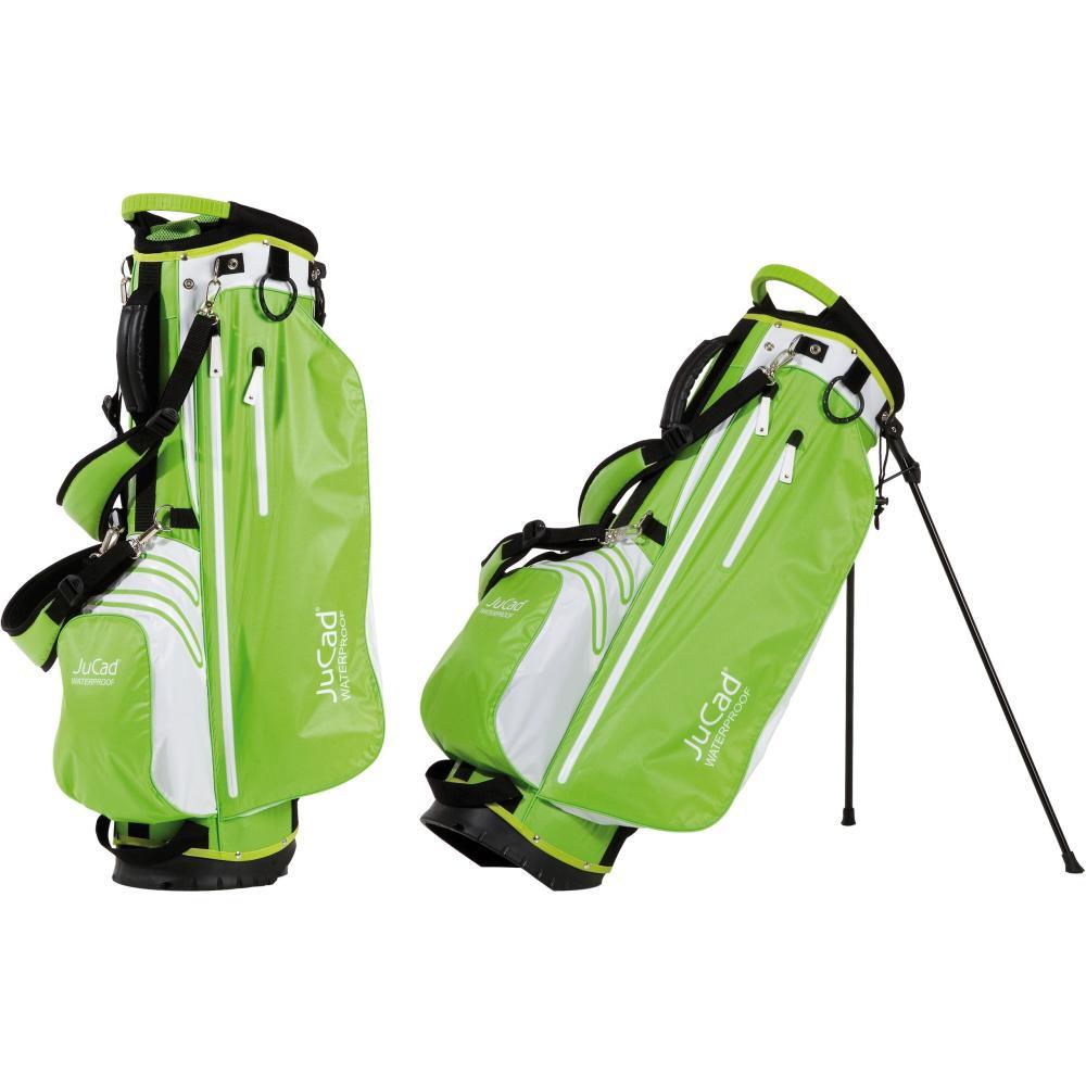 jucad 2 in 1 golf bag waterproof standbag und cartbag schwarz wei rot. Black Bedroom Furniture Sets. Home Design Ideas
