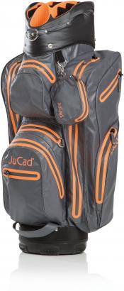 JuCad Cartbag Aquastop, grau/RV orange