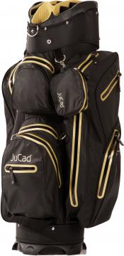 JuCad Cartbag Aquastop, schwarz/gold