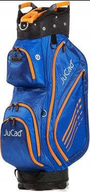 JuCad Cartbag Sportlight, blau/orange