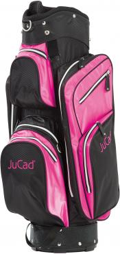 JuCad Cartbag Junior, schwarz/pink