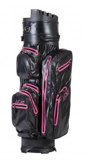 JuCad Cartbag Manager Dry, schwarz/RV pink