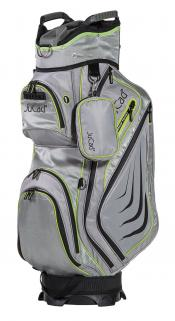 JuCad Cartbag Captain Dry, grau/grün