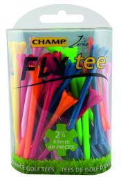 Champ Zarma FLY tee Golftees, Farbmix, 70mm