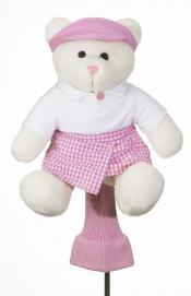 Pink Teddy Headcover