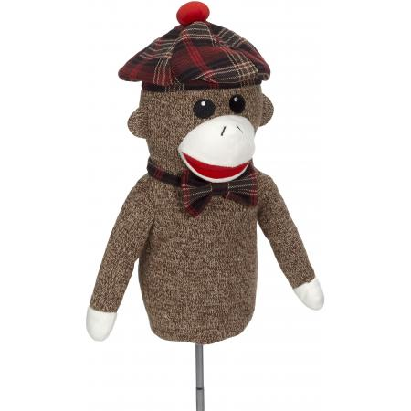 Golf Sock Monkey Headcover