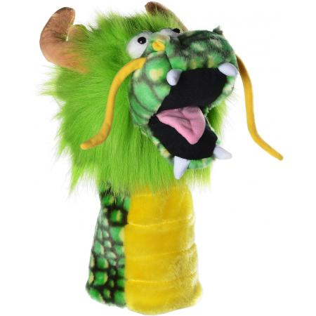 Fun-Drache Headcover, grün