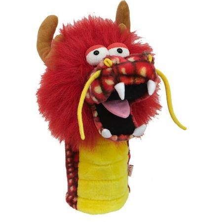 Fun-Drache Headcover, rot