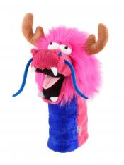 Fun-Drache Headcover, pink
