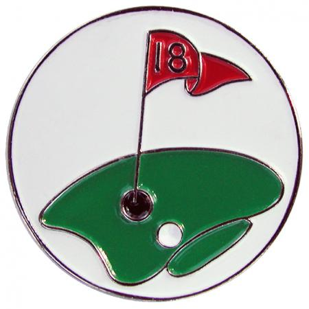 Navika Basic Ballmarker &quote;18th Hole&quote;