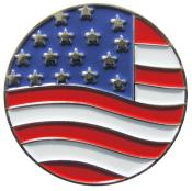Navika Basic Ballmarker &quote;American Flag&quote;