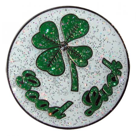 Navika Glitzy Ballmarker &quote;Good Luck&quote;