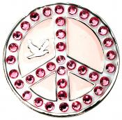 Navika Crystal Ballmarker &quote;Peace&quote;, pink