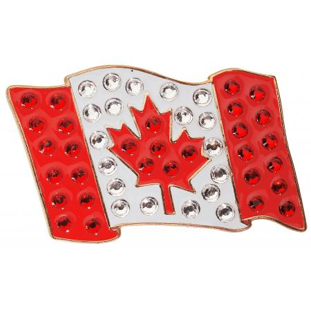 Navika Crystal Ballmarker &quote;Canadian Flag&quote;