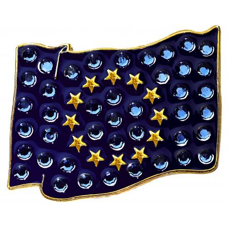 Navika Crystal Ballmarker &quote;European Flag&quote;