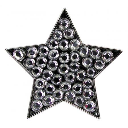 Navika Crystal Ballmarker &quote;Star&quote;, silber