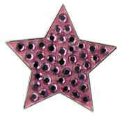 Navika Crystal Ballmarker &quote;Star&quote;, pink