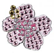 Navika Crystal Ballmarker &quote;Hibiscus&quote;, pink