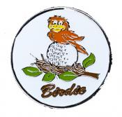 Navika Basic Ballmarker &quote;Birdie on the Ball&quote;