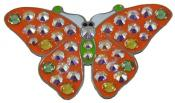 Navika Crystal Ballmarker &quote;Butterfly 2&quote;, orange