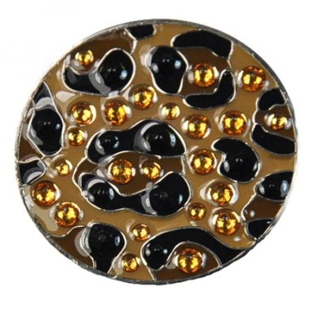 Navika Crystal Ballmarker &quote;Leopard Print&quote;