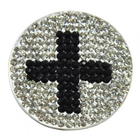Navika Micro Pavé Crystal Ballmarker &quote;Cross&quote;