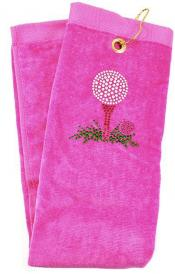 Navika Golftuch &quote;Golf Tee&quote;, pink