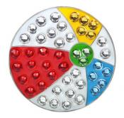 Navika Crystal Ballmarker &quote;Beach Ball&quote;