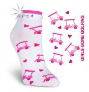 K. Bell Damen-Golfsocken Girls gone Golfing