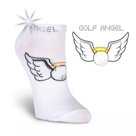 K. Bell Damen-Golfsocken Golf Angel
