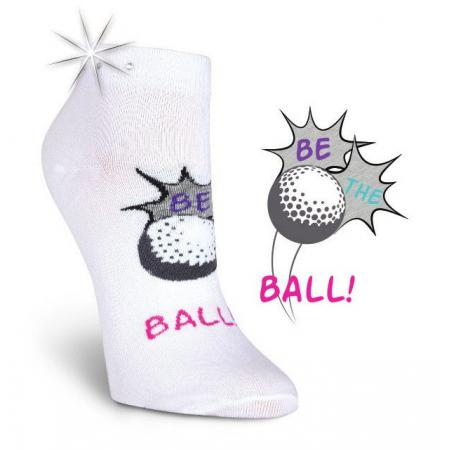 K. Bell Damen-Golfsocken Be the Ball