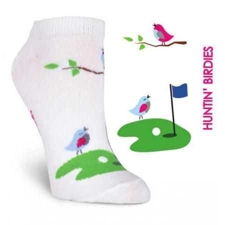 K. Bell Damen-Golfsocken Huntin' Birdies