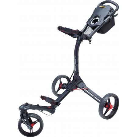 Bag Boy Tri Swivel 2.0 Trolley, schwarz/rot