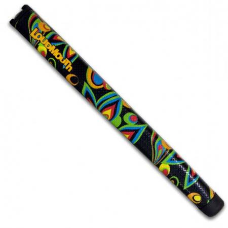 Loudmouth Putter Griff Black Shagadelic